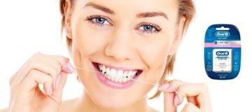 Необходимость применения зубной нити Орал Би и типы изделий