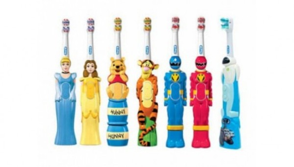 Электрическая зубная щетка для детей от 6 лет