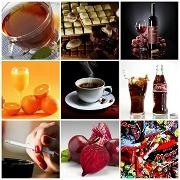 Употребление красящих продуктов для зубов