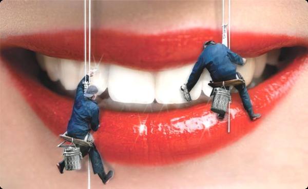 Красящиеся продукты зубов