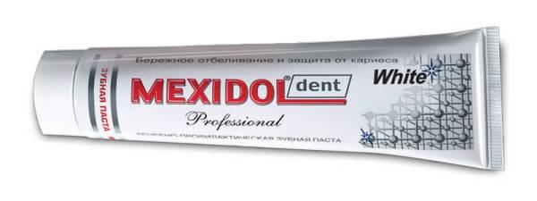 Зубная паста мексидол комплекс