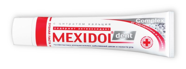 Купить зубную пасту мексидол дент