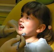 Процесс серебрения молочных зубов