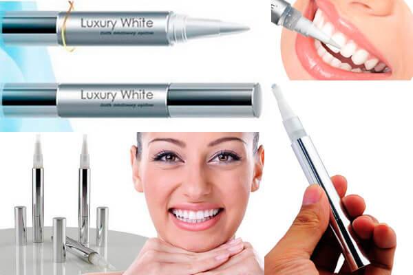 Карандаш для отбеливания зубов luxury white pro цены