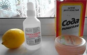 Свойства лимона и перекиси