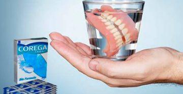 Фармакологическое действие таблеток для чистки зубных протезов Корега