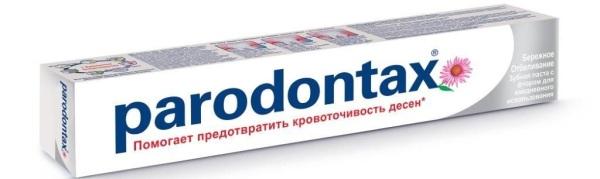 Пародонтакс зубная паста состав