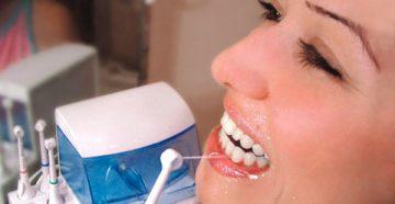 Описание и показания к применению ирригатора полости рта Aquapulsar OS1