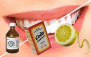 Как отбеливать зубы лимоном перекисью и содой