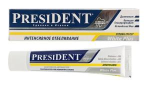 Зубная паста президент отбеливающая отзывы