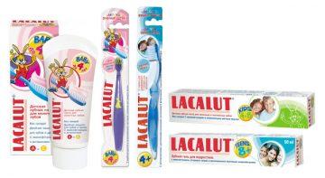 Обзор линейки зубных паст Лакалют