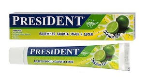 Зубная паста президент сенситив sensitive