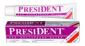 Детская зубная паста президент отзывы