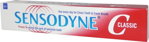 Сенсодин зубная паста виды