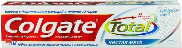 Состав зубной пасты colgate бережное отбеливание на русском