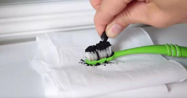 Отбеливание зубов с помощью активированного угля рецепт