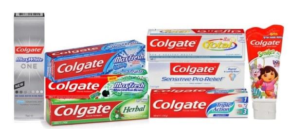 Колгейт отбеливающая зубная паста состав срок годности