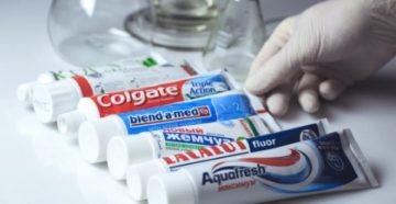 Перечень эффективных зубных паст от пародонтоза