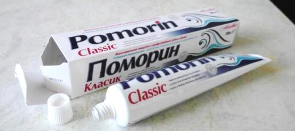 Pomorin зубная паста отзывы