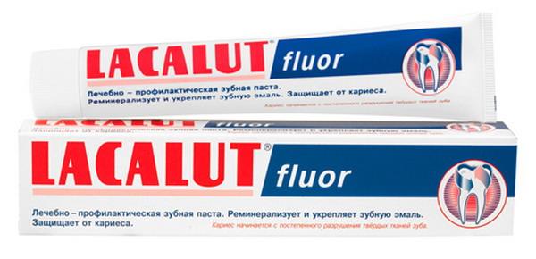 Зубная паста лечащая кариес