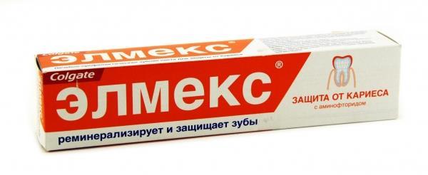 Зубная паста колгейт элмекс защита от кариеса