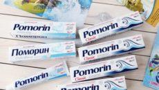Правила использования зубной пасты Поморин
