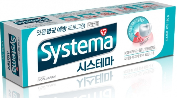 Cj lion systema зубная паста