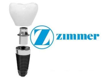 Элементы конструкции имплантов Zimmer