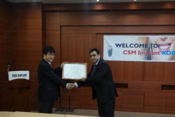 Характеристики имплантов CSM