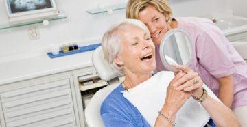 Скидки для пенсионеров на протезирование зубов